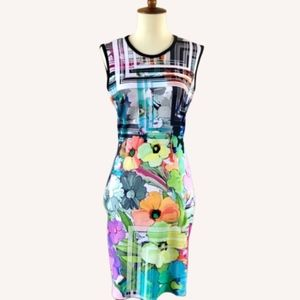 Cocoom Multicolor Neoprene Scuba Dress